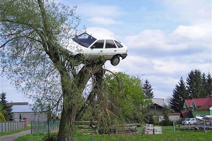 عکس هایی باورنکردنی از پارک ماشین در خیابان!